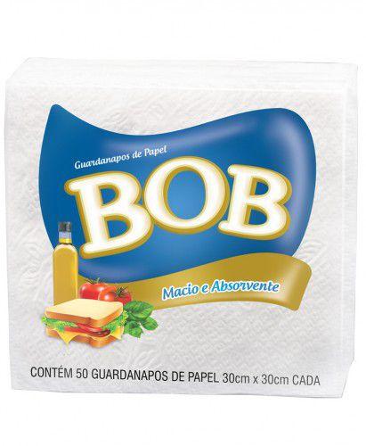 GUARDANAPO FOLHA SIMPLES GRANDE C/50 UNIDADES - BOB