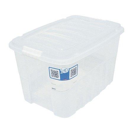 CAIXA ORGANIZADORA 56L GRAN BOX INCOLOR - PLASÚTIL