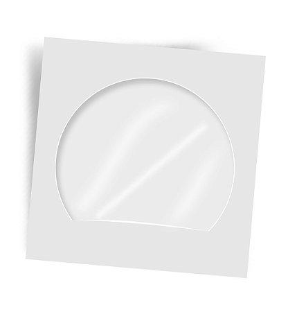 ENVELOPE PARA CD E DVD 126MMX126MM BRANCO C/100 - CELUCAT