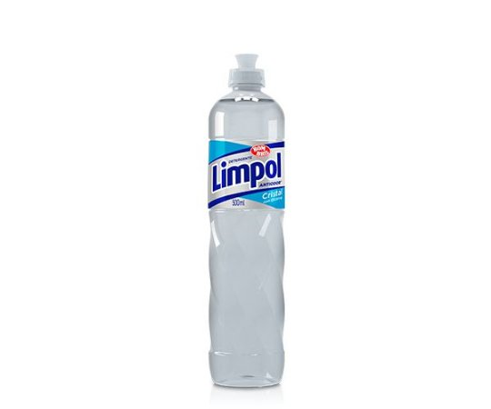 DETERGENTE LIMPOL CRISTAL - 500ML