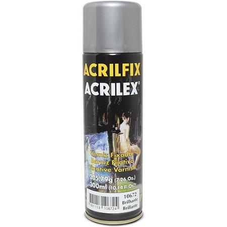 VERNIZ FIXADOR ACRILFIX BRILHANTE 300ML - ACRILEX