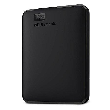 HD EXTERNO 1TB USB PORTÁTIL WD ELEMENTS - WESTERN DIGITAL