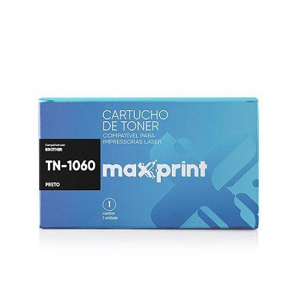 TONER COMPATÍVEL TN-1060 PRETO - MAXPRINT