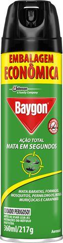 INSETICIDA BAYGON AÇÃO TOTAL - 360ML