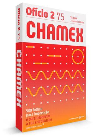 PAPEL CHAMEX OFÍCIO 2 75 216MMX330MM BRANCO - 500 FLS