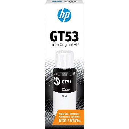 GARRAFA DE TINTA HP GT53 1VV22AL PRETO - 90ML