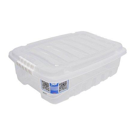 CAIXA ORGANIZADORA 9,3L GRAN BOX INCOLOR - PLASÚTIL