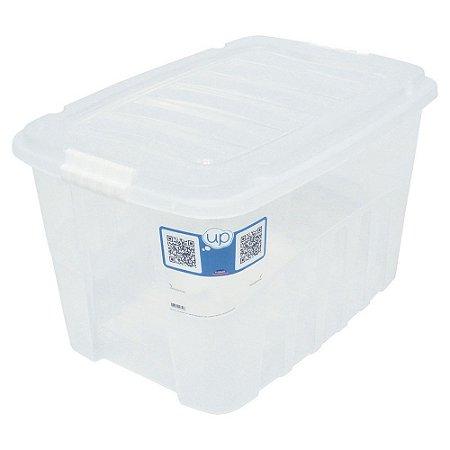 CAIXA ORGANIZADORA 78L GRAN BOX INCOLOR - PLASÚTIL