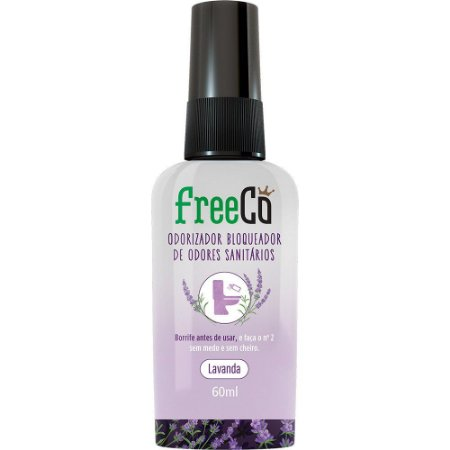 BLOQUEADOR DE ODOR LAVANDA 60ML - FREECÔ