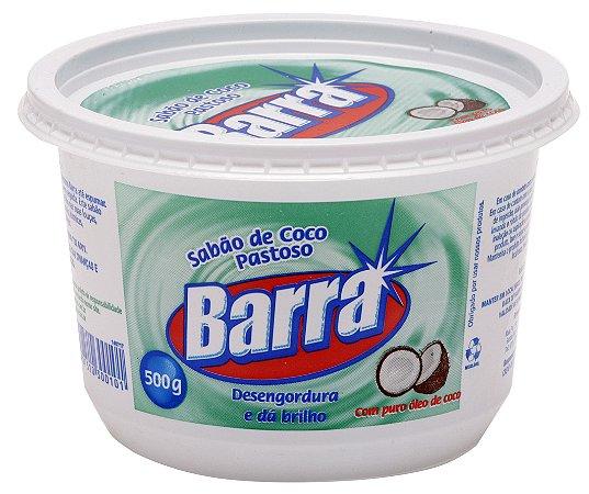 SABÃO DE COCO PASTOSO BARRA - 500G