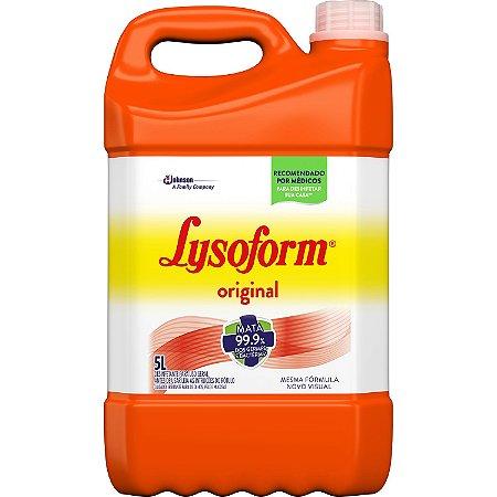 DESINFETANTE LYSOFORM BRUTO ORIGINAL - 5L
