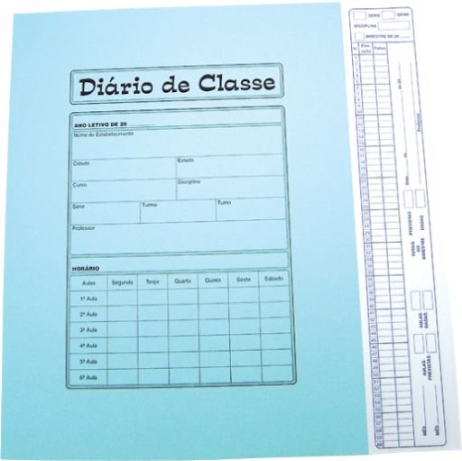 DIÁRIO DE CLASSE BIMESTRAL 8 FLS C/50 UNIDADES - TAMOIO