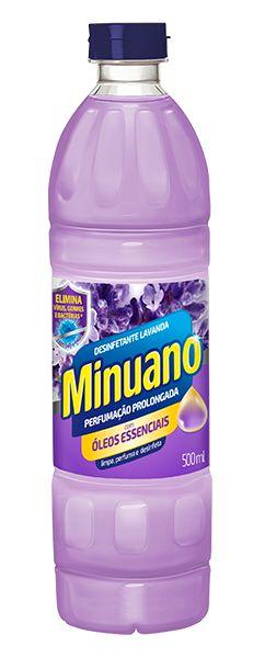 DESINFETANTE MINUANO LAVANDA - 500ML