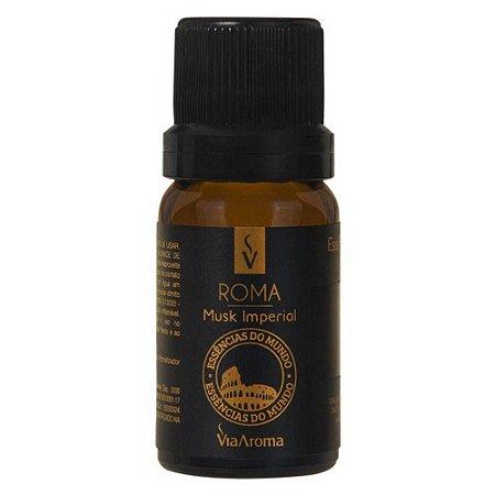 Essência Roma - Musk Imperial - 10ml - Via Aroma