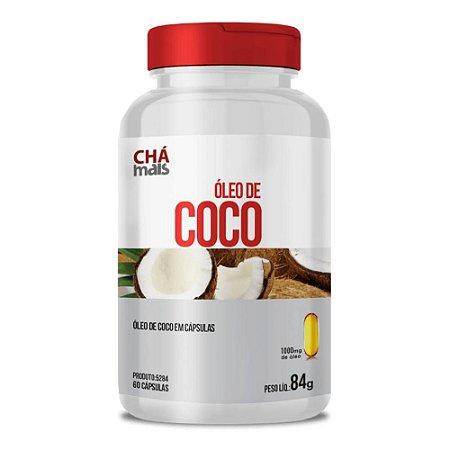 Óleo de Coco 1000mg 60 cápsulas - Clinicmais