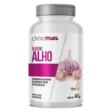 Óleo de Alho 60 cápsulas - Clinicmais