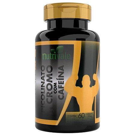 Picolinato de Cromo com Cafeína 60 cápsulas - Nutrivale