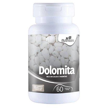 Dolomita ( Cálcio + Magnésio) 60 cápsulas - Nutrivale