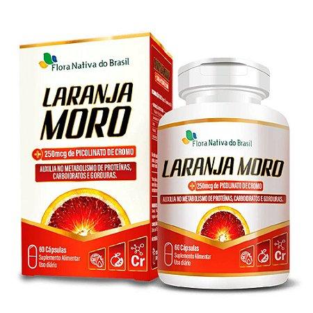 Laranja Moro com Picolinato de Cromo 500mg 60 cápsulas - Flora Nativa