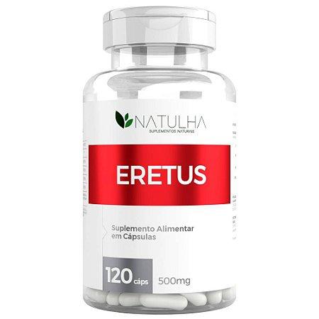 Eretus Estimulante Sexual Natural Masculino 120 cápsulas - Natulha