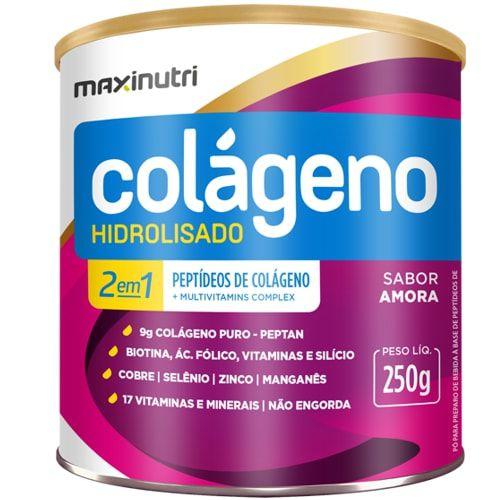 Colageno Hidrolisado 2em1 250g - Maxinutri