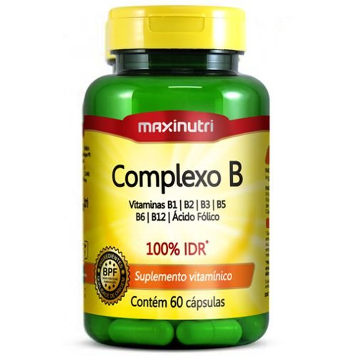 Complexo B 60caps - Maxinutri
