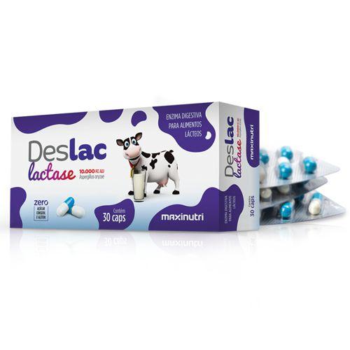 DESLAC Lactase  30 cápsulas - Maxinutri