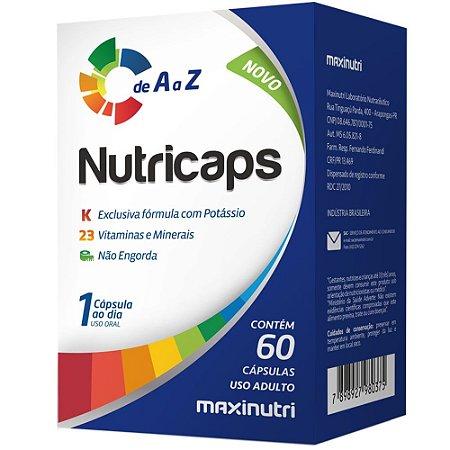 Nutricaps Maxinutri - 60 Cápsulas