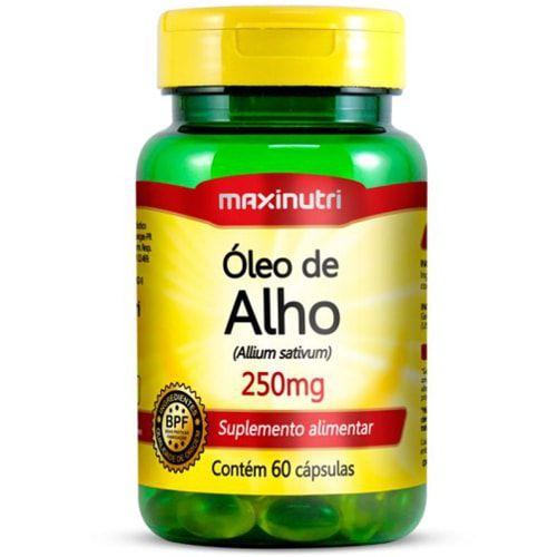 Óleo de Alho 60 Cápsulas - Maxinutri