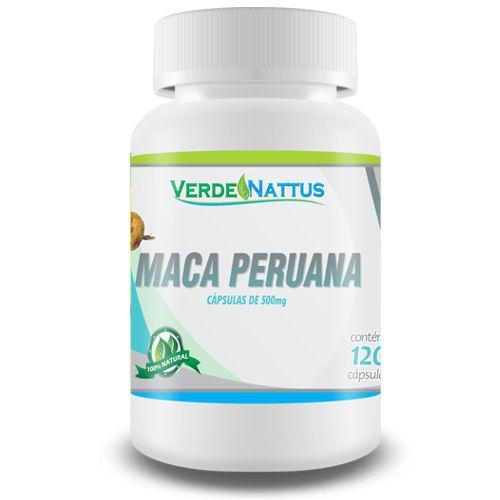 Maca Peruana 120 Cápsulas - Verde Nattus