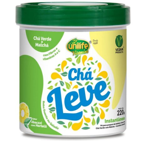 Chá Verde Com Matcha 220 gramas - Unilife