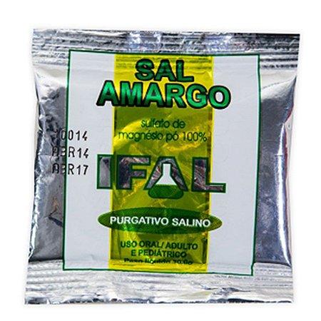 Sal Amargo Sulfato de Magnésio 30g - Ifal
