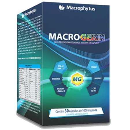 Macrogerin 1000mg 30 Cápsulas - Macrophytus