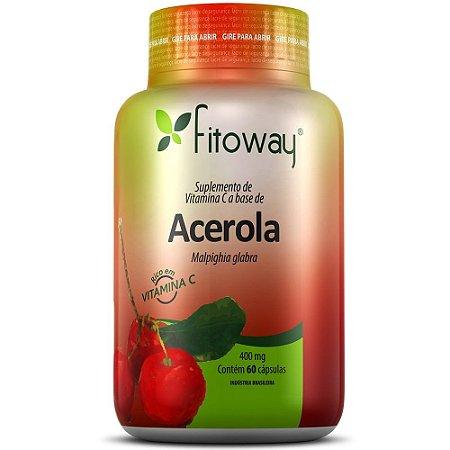Acerola 60 cápsulas - Fitoway