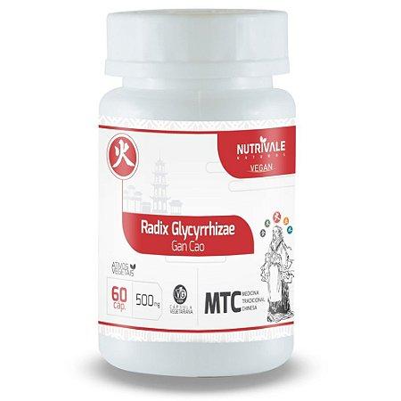 Alcaçuz - Radix Glycyrrhizae - 60 Cápsulas - Nutrivale