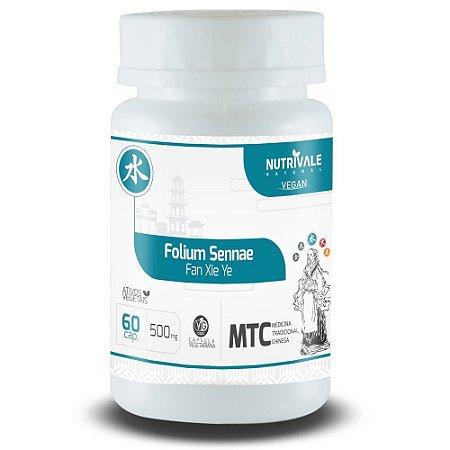 Sene - Folium Sennae - 60 cápsulas - Nutrivale