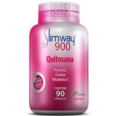 SlimWay 900 - Quitosana 90 cápsulas - Fitoway
