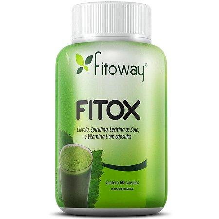 Fitox - Fórmula Detox - 60 Cápsulas - Fitoway