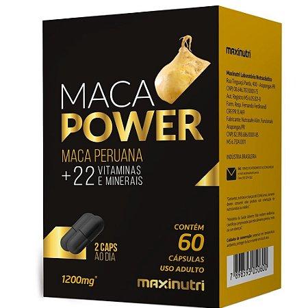 Maca Power 60 cápsulas - Maxinutri
