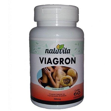 Viagron Estimulante Sexual Natural 60 cápsulas - Natuvita