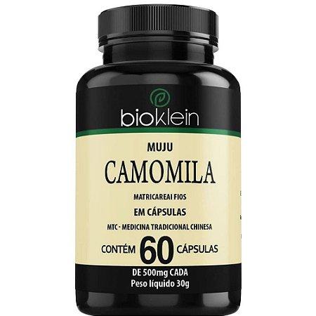 Camomila 500mg 60 cápsulas - Bioklein