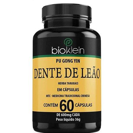 Dente de Leão 600mg 60 cápsulas - Bioklein