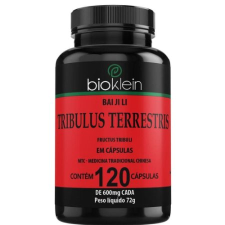 Tribulus Terrestris Chinês 120 cápsulas - Bioklein