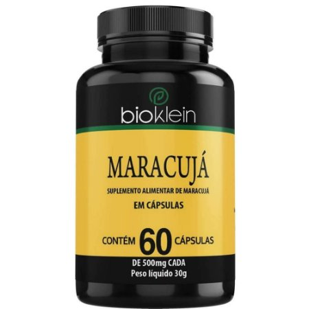 Maracujá 500mg 60 cápsulas - Bioklein