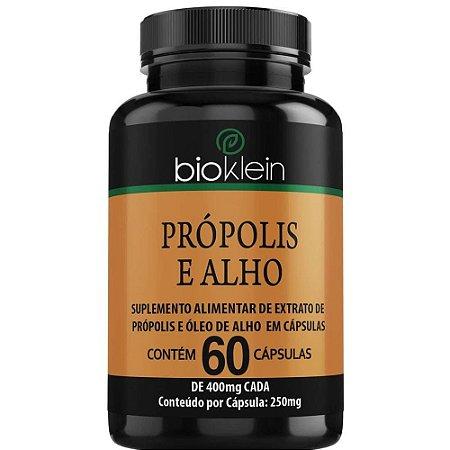 Própolis e Alho 400mg 60 cápsulas - Bioklein