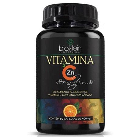 Vitamina C + Zinco 60 cápsulas - Bioklein