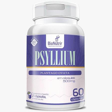 Psyllium 500mg 60 cápsulas - Bionutrir