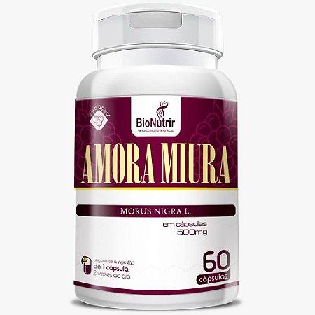 Amora Miúra 500mg 60 cápsulas - Bionutrir