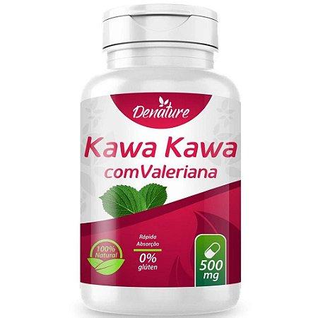 Kawa Kawa com Valeriana 100 cápsulas - Denature