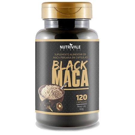 Black Maca Peruana 120 cápsulas - Nutrivale